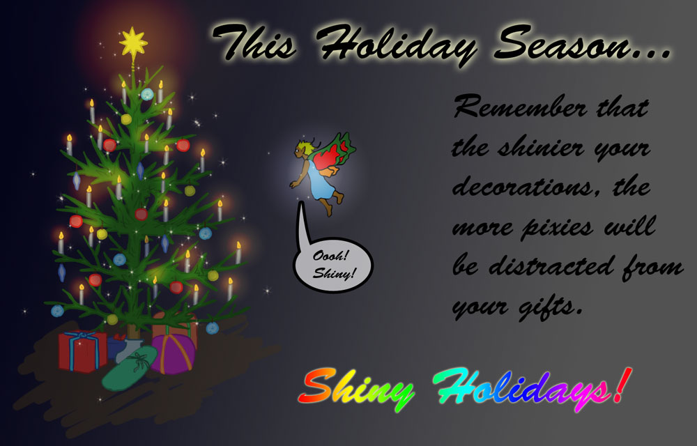 Filler: Shiny Holidays