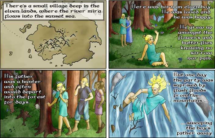 Backstory 1: An Elven Boy.