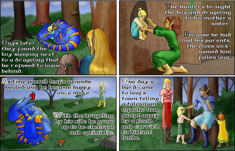 Backstory 3: Growing Up