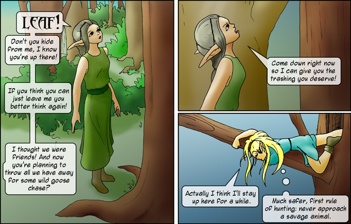 Enter Elven Girl
