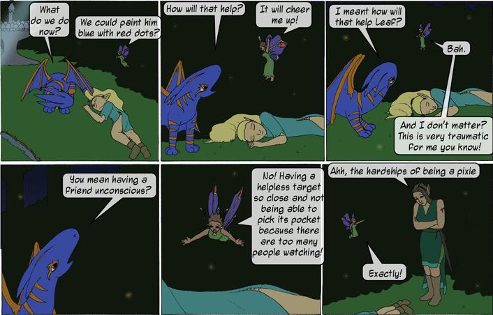 Pixie trauma