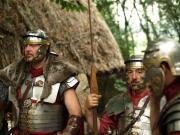 Several roman soldiers